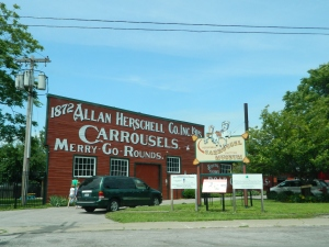 The Herschell Carrousel Factory.